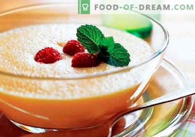 Augļu biezenis - labākās receptes. Kā pareizi un garšīgi sagatavot augļu biezeni.