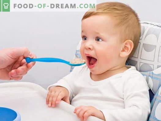 Cereali per bambini - le migliori ricette. Come cucinare il porridge per i bambini.