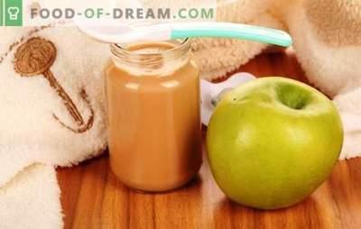 Ābolu biezenis bērniem: kā to pareizi un garšīgi pagatavot. Receptes ābolu biezenim zīdaiņiem