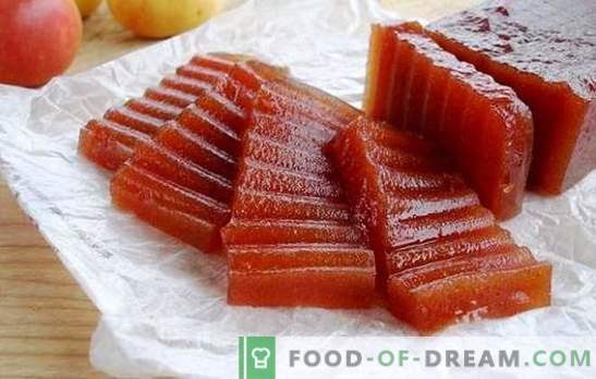 Pašdarināts ābolu marmelādes - pārbaudītas receptes. Ābolu marmelāde mājās: mikroviļņu krāsnī vai krāsnī
