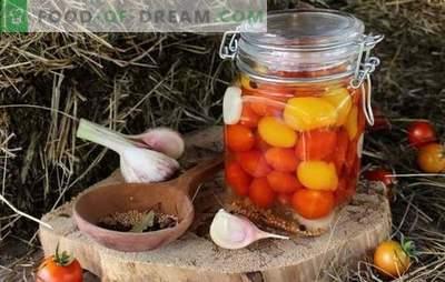 Ķiršu tomāti ziemai - mazliet asa maz prieka! Receptes nesalīdzināmiem preparātiem ar ķiršu tomātiem ziemai