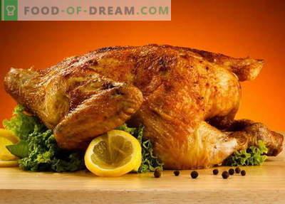 Vistas gaļa ar garozu - labākās receptes. Kā pareizi un garšīgi pagatavot vistu ar garozu.