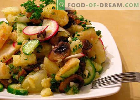 Салата от черния дроб с кисели краставички - най-добрите рецепти. Как да правилно и вкусно да се подготви салата с черен дроб и кисели краставички.