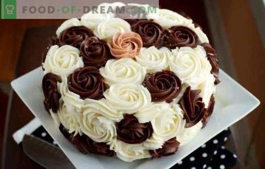 Krēms kūka dekorēšanai: labākās un oriģinālākās receptes. Kā padarīt katra veida kūka dekorēšanas krēmu: soli pa solim
