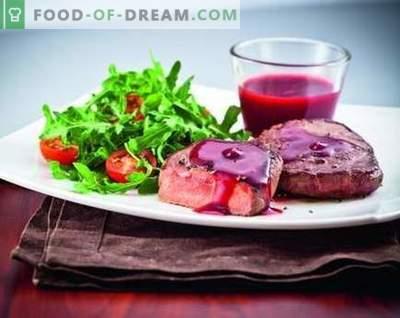 Brūkleņu mērce - labākās receptes. Kā pareizi un garšīgi pagatavot dzērveņu mērci.