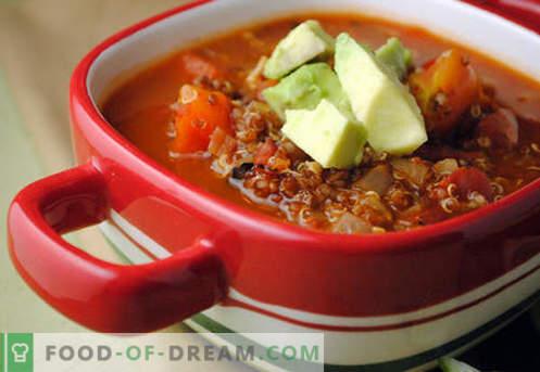 Sopa quaresmal - receitas comprovadas. Como corretamente e saboroso cozinhar sopa magra.