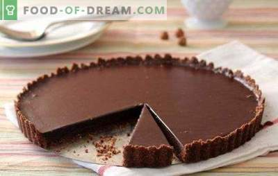 Šokolādes kūka ar riekstiem ir salds pasaka! Pierādītas gardākās un garšīgākās šokolādes kūku receptes ar riekstiem