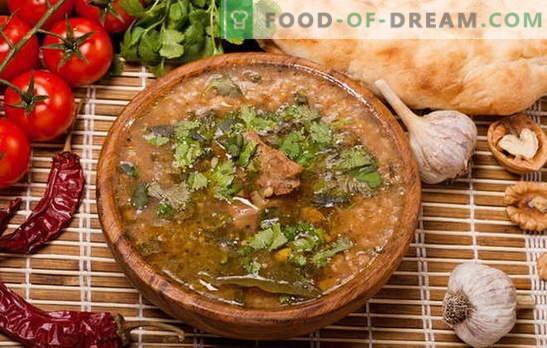 Kharcho mājās - ne tikai gruzīni gatavo! Receptes mājās gatavotam kharčam ar vistu, cūkgaļu, jēru