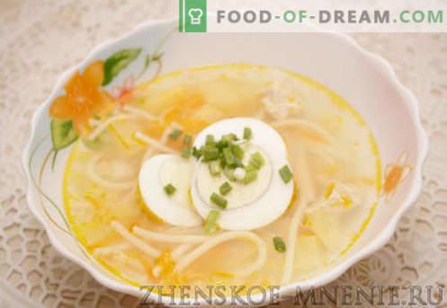 Vistas zupa - recepte ar fotogrāfijām un soli pa solim