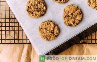 Biscotti dietetici di avena, che ti consentono di mantenere la forma e la salute del tuo corpo. Ricetta per biscotti d'avena Ducane