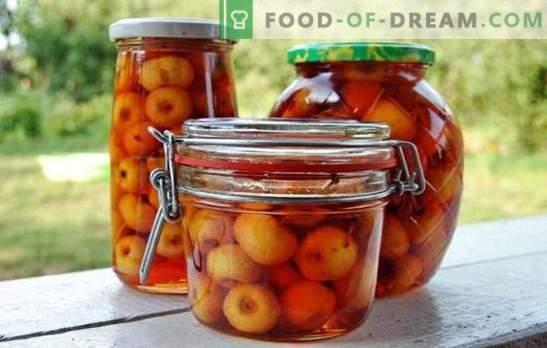 Āboli savās sulās ziemai: augļi, kurus var saglabāt. Interesantu preparātu varianti - āboli savā sulā