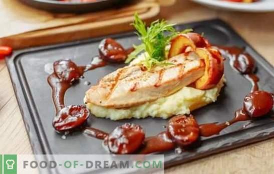Grilēta tītara - maksimālā garša un ieguvums! Grilēšana tītara tomātu, kefīra, medus, vīna, sinepju marinādē