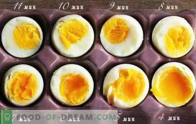 Kā pagatavot mīksti vārītas olas, vārītas, maisiņā, poached olas. Kā vārīt olas pēc verdoša ūdens