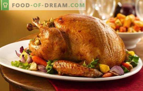Turcija ar dārzeņiem - garšīga, veselīga, skaista! Ēdiens un svētku receptes tītaram ar dārzeņiem