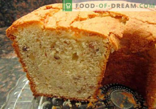 Vienkārša cupcake - labākās receptes. Kā ātri un garšīgi pagatavot vienkāršu cupcake.