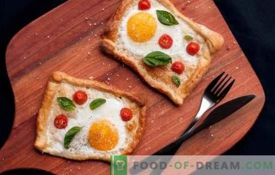 Saldētas olas ar tomātiem ir droša iespēja ātri brokastīm vai vieglām vakariņām. Veidi, kā pagatavot gardas olas ar tomātiem