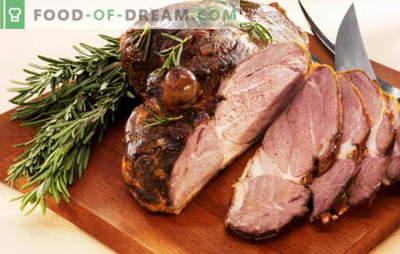 Gaļa, cepta ar gabalu - sešas labākās receptes. Receptes gaļai, kas cepta folijā, piedurknē, mīklā, lēni plīts
