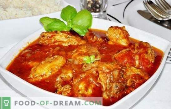 Vistas hobiji lēnā plītī - dāsna trauks! Receptes viesmīlīgai chakhokhbili no vistas lēni plīts