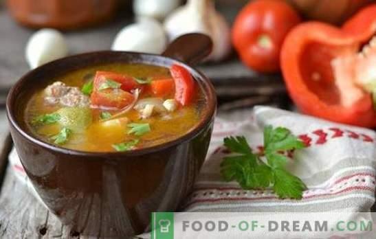Trušu zupa - garšas un ieguvuma vienotība! Trušu zupas receptes ar pupiņām, rīsiem, makaroniem, krējumu, sēnēm un lēcām