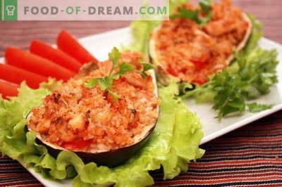 Pildīti baklažāni - labākās receptes. Kā pareizi un garšīgi gatavot baklažānu.