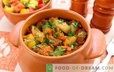 Grauzdēti gaļas podi ar gaļu un kartupeļiem - vai tas ir pirmais vai otrais? Receptes mājās gatavotiem cepešiem ar gaļu un kartupeļiem sātīgām maltītēm