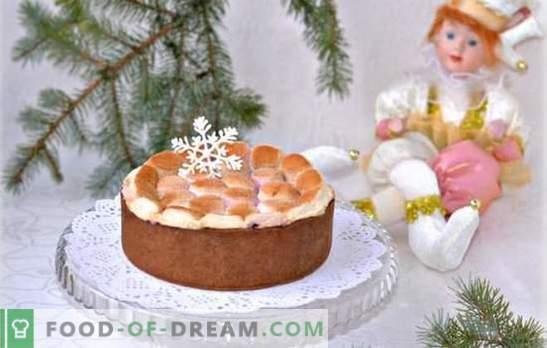 Kūkas ar zefīrs ir delikāts. Kā cept kūku ar krējumu vai zefīrs, kā padarīt to bez cepšanas