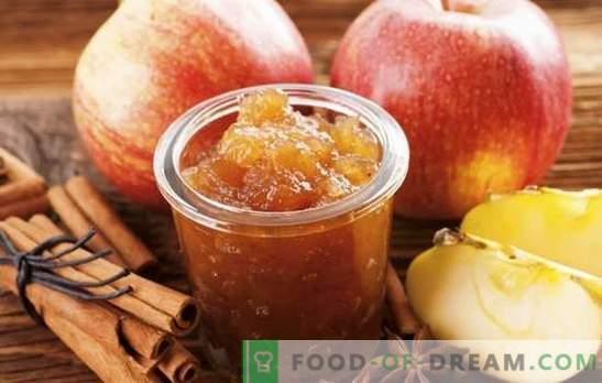 Marmellata di mele fatta in casa per l'inverno - la preparazione necessaria! Ricette per marmellata di mele diverse a casa