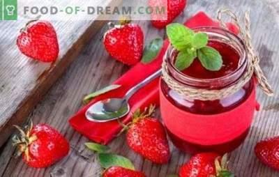 Geléia de morango em um fogão lento - uma ótima sobremesa para o chá. Geléia de morango deliciosa em um fogão lento - desejo suficiente e um par de idéias