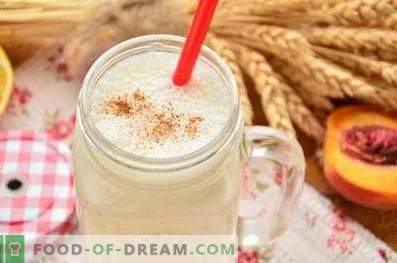 Smoothies with cottage cheese