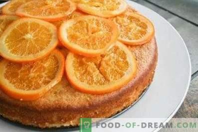 Šarlote ar apelsīniem